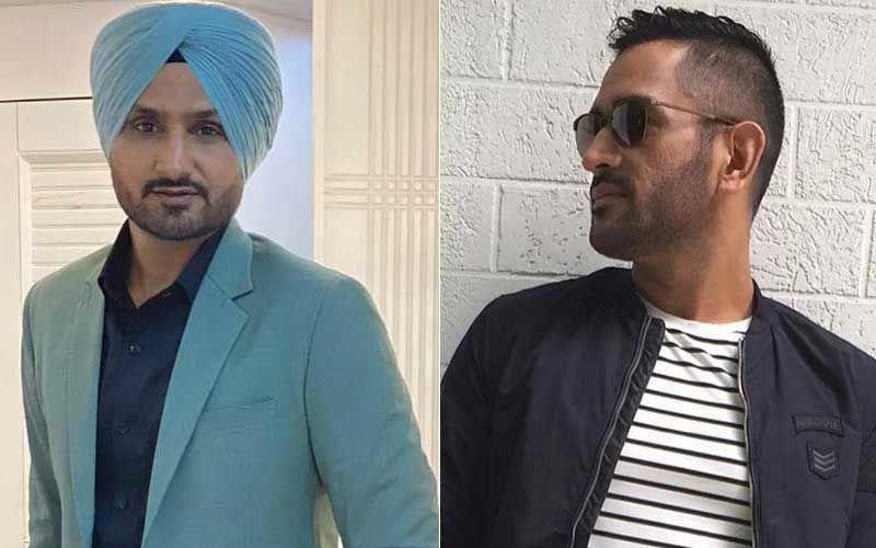 IPL 2020: Netizens Lambast Harbhajan Singh For His Reaction To MS Dhoni-Paul Reiffel Controversy; Slam Him For 'Helping Afridi But Mocking Dhoni'