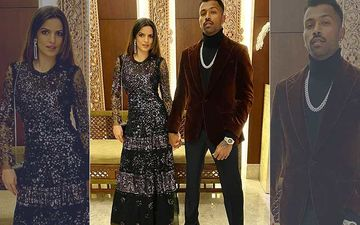 New Year 2020: Hardik Pandya Makes It Official; Introduces Girlfriend Natasa Stankovic As His Firework