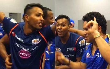 When Mumbai Indians' Hardik Pandya Made Sachin Tendulkar Dance To Zingaat After Their Glorious IPL Win - VIDEO