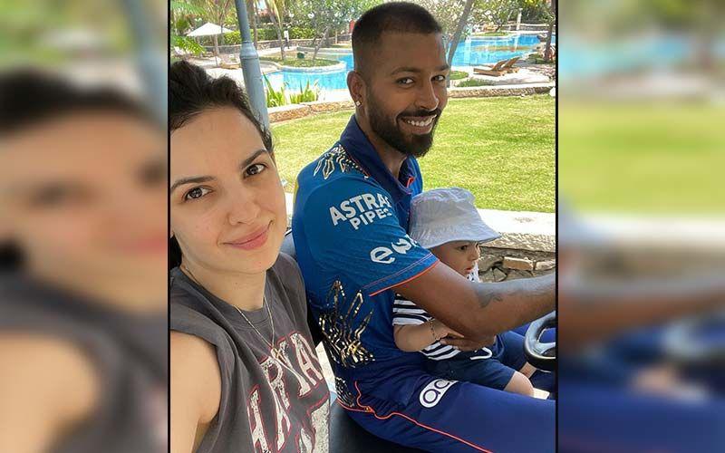 Natasa Stankovic And Son Agastya Enjoy Mumbai Weather, While In Quarantine With Hardik Pandya