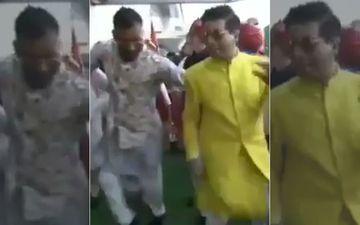 Akash Ambani-Shloka Mehta Wedding: कॉफ़ी विद करण 6 की कंट्रोवर्सी के बाद हार्दिक पांड्या और करण जौहर ने जमकर लगाए ठुमके