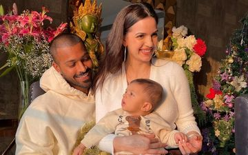 Hardik Pandya-Natasa Stankovic Celebrate As Their Baby Boy Agastya Turns Five Months Old; Trio's Family Pic Is TOO CUTE To Be Missed