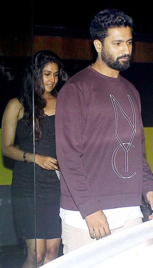 Vicky Kaushal and Harleen Sethi