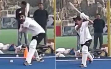 Harrdy Sandhu Plays Cricket Like A Professional, Fans Say 'Go For IPL'- WATCH VIDEO