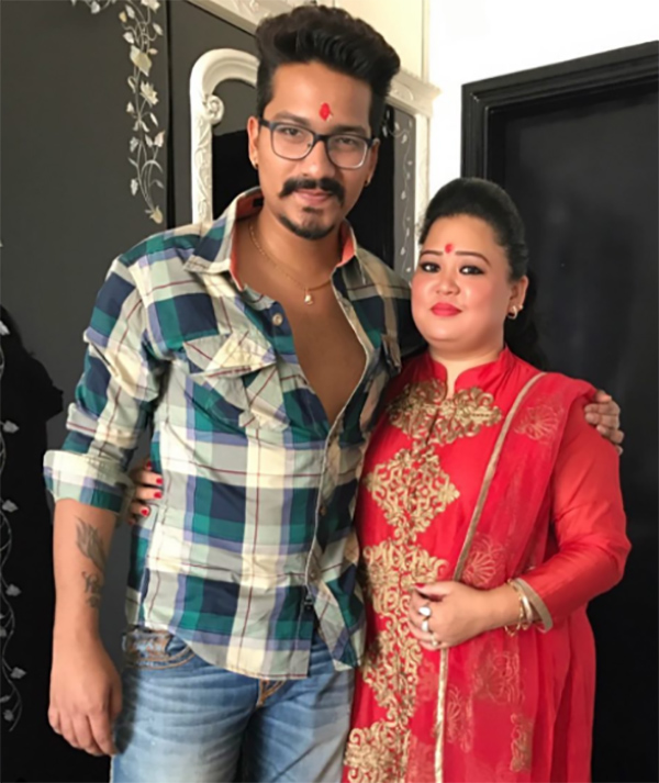 harsh limbachiyaa and bharti singh