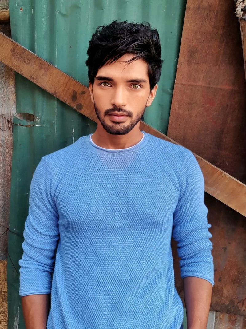 harsh rajput in new look