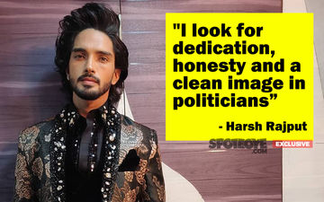 Harsh Rajput To Politicians: Instead Of Defaming Each Other, Criticise Gracefully And Focus On Development