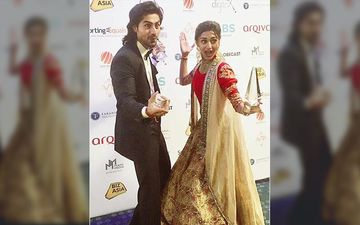 Erica Fernandes And Harshad Chopda Bag Top Nods At The Asian Viewers TV Awards In London -Inside Pics
