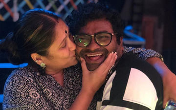 Harshada Khanvilkar Gives A Solid Peck On Kushal Badrike's Cheek
