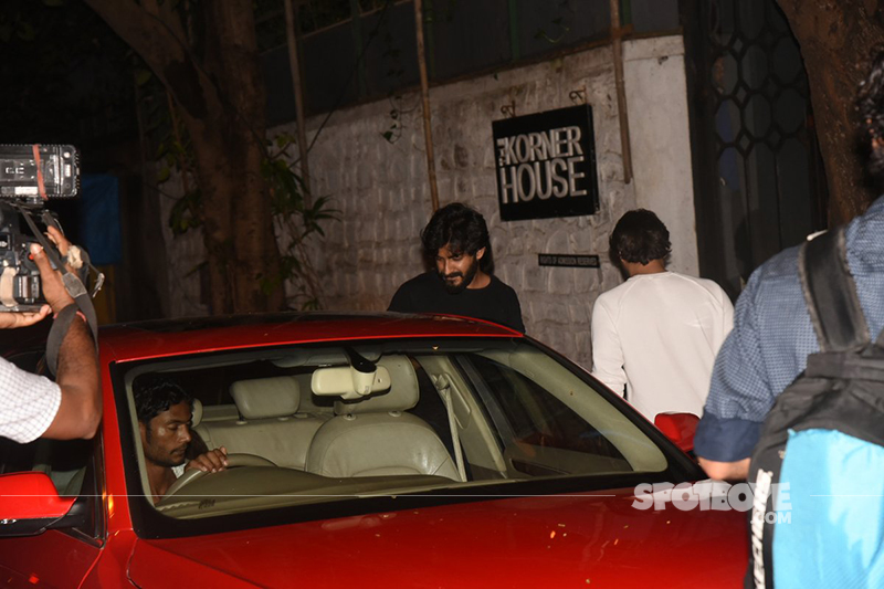 harshvardhan kapoor at the korner house