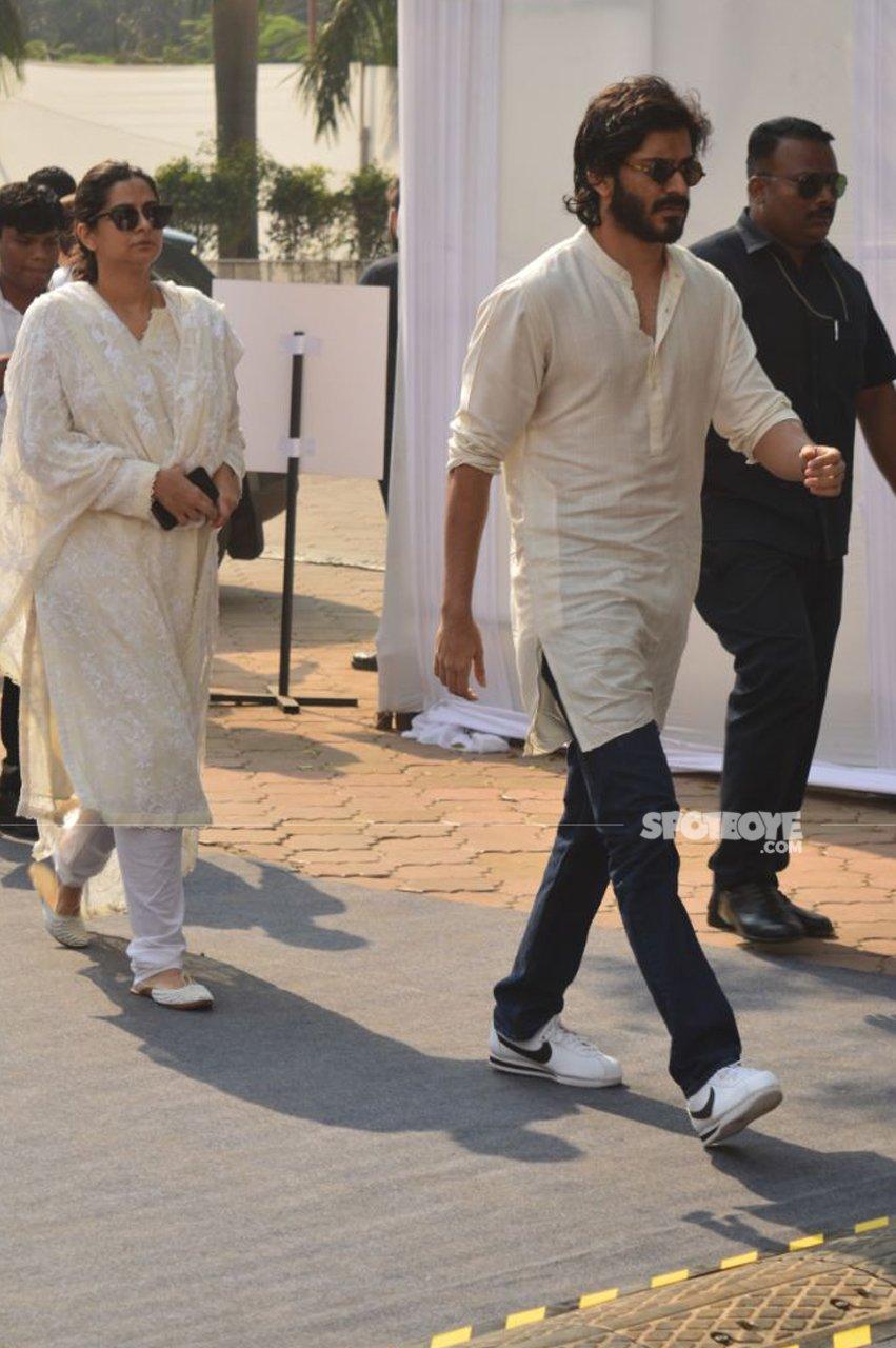harshvardhan kapoor with sister rhea kapoor at the celebration club juhu