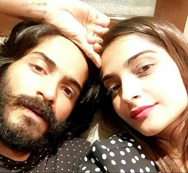 harshvardhan kapoor with sister sonam kapoor