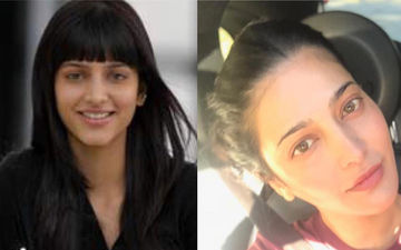 """""""What A Plastic Surgery!"""" Fans Troll Shruti Haasan's 'Then' And 'Now' Picture"""