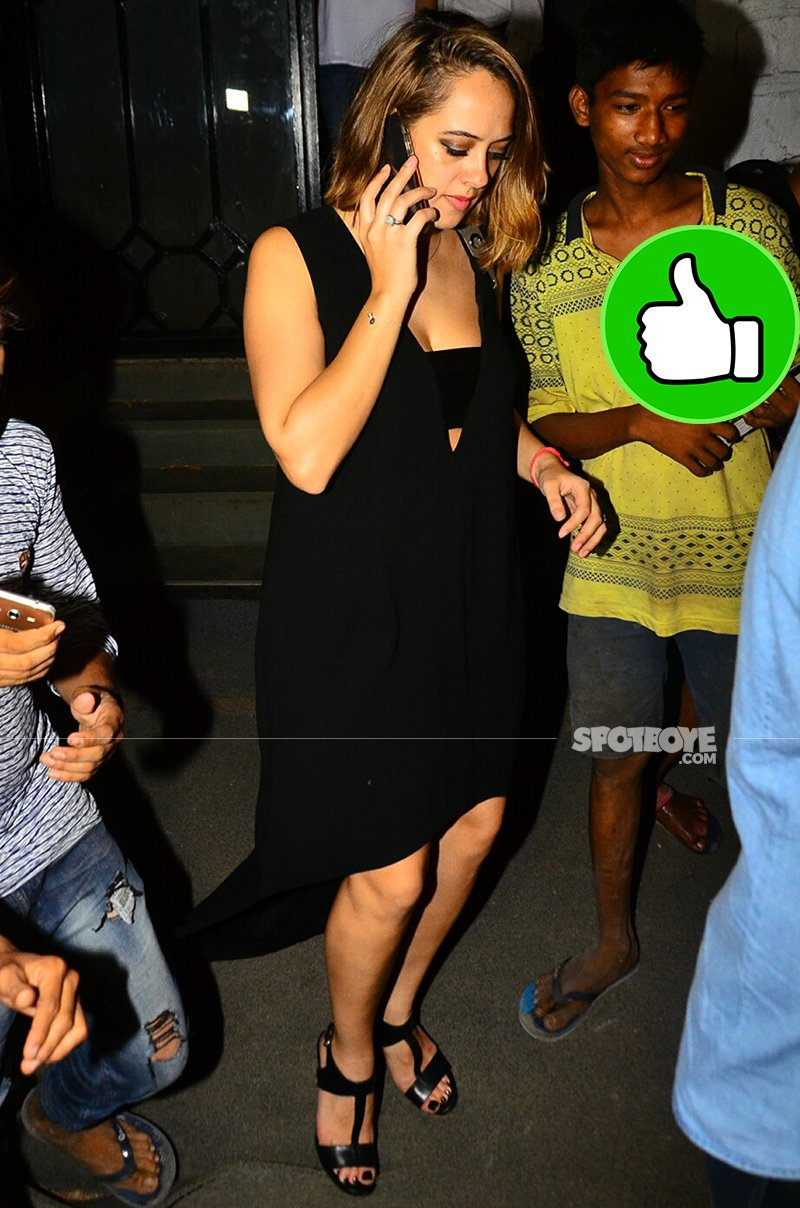 hazel keech snapped post party