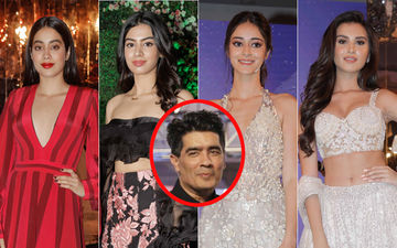 Janhvi Kapoor, Khushi Kapoor, Ananya Panday, Tara Sutaria Keep It Glamorous At Manish Malhotra's Fashion Show