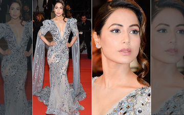Cannes 2019: Hina Khan's Red Carpet Look Out! Komolika Glitters In A Ziad Nakad Creation