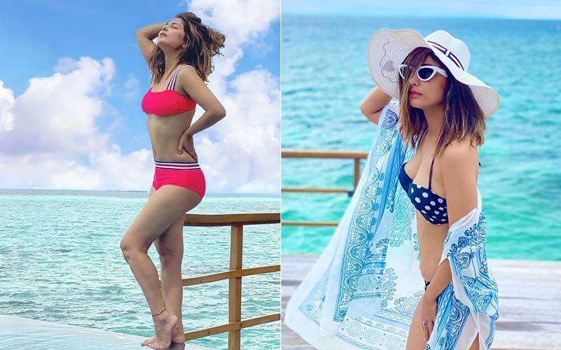 Hina Khan's Holiday Style: From Red Bikini To Sassy Kaftans, The Diva Is Setting Fajor Travel Style Goals