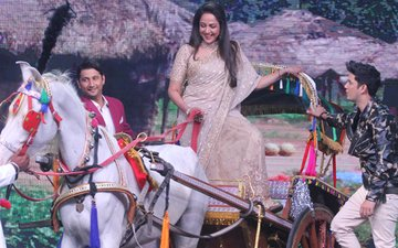 Once AGAIN After 43 Years: Hema Malini Recreates The ICONIC 'Basanti-Dhano' Scene From Sholay