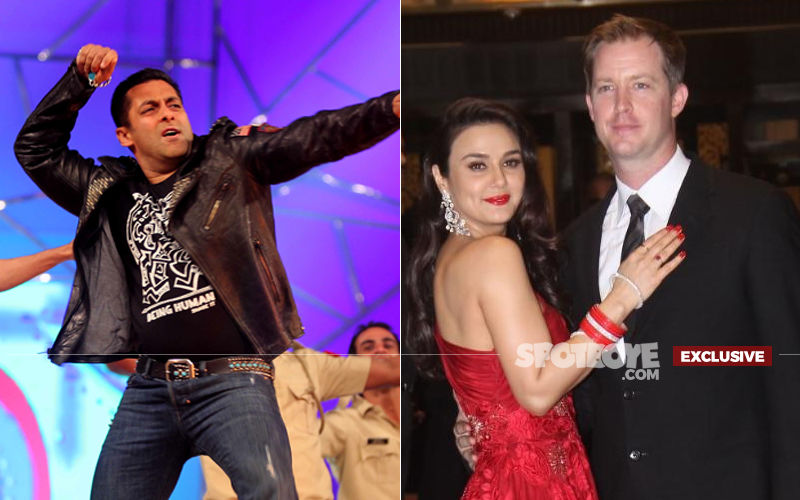 Here's What Good Enough Salman Khan Did For Preity Zinta's Husband Goodenough, Last Night