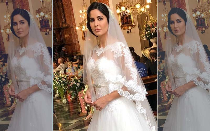Here's What Went Behind Katrina Kaif's Bridal Look In Bharat
