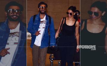 Deepika Padukone And Ranveer Singh Return From Their Mini Honeymoon