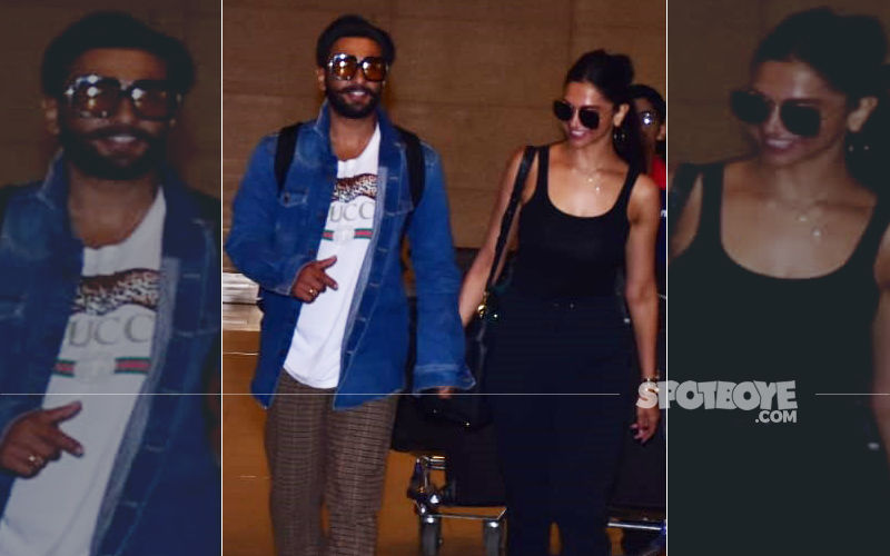 Deepika Padukone And Ranveer Singh Return From Their Mini Honeymoon