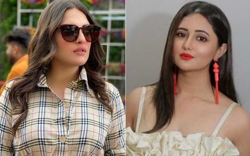 Dolled up Himanshi Khurana Looks Uber Glamorous; Bigg Boss 13 Co-Contestant Rashami Desai Couldn't 'Like It' More