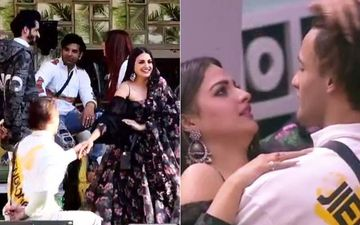 Bigg Boss 13: Asim Riaz- Himanshi Khurana Fans Go Berserk After He Proposes Marriage; Declare Her As 'Bhabhiji', Trend #JabAsiManshiMet