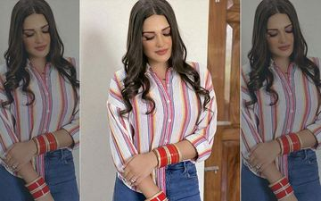 Himanshi Khurana Flashes Her HUGE Diamond Ring Once Again, This Time With Mangalsutra Bracelet And Chooda; Fans Ask 'Aapne Shaadi Kar Li?'
