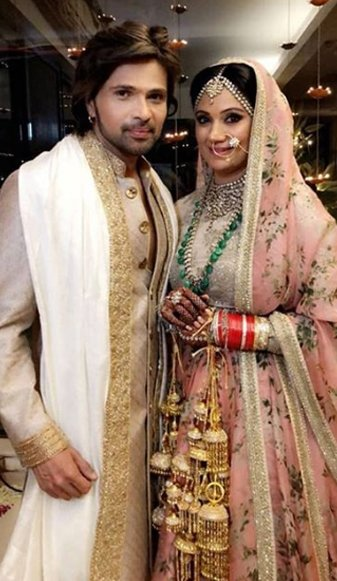 himesh reshammiya with wife sonia kapoor