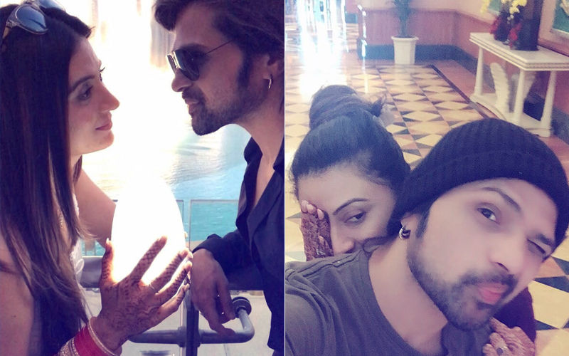 Himesh Reshammiya & Sonia Kapoor's Love-Soaked Honeymoon Pics From Dubai