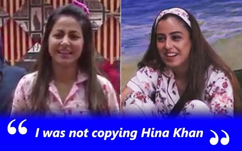 hina Khan And Srishty Rode