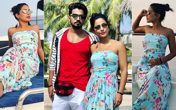 Hina Khan And Rocky Jaiswal's 'We Time' On Yacht - See Pics