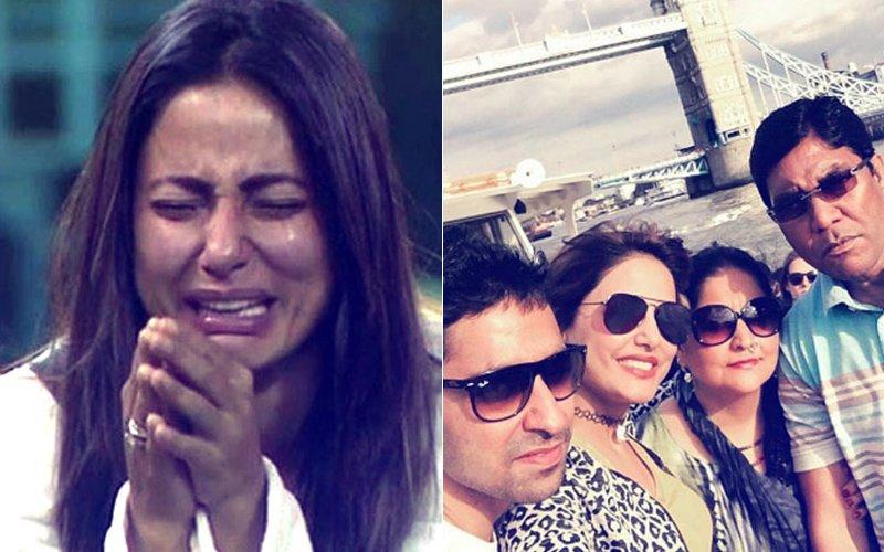 Hina Khan father death