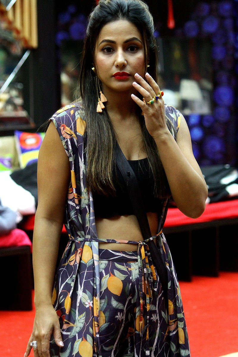 hina khan in bigg boss 11 house