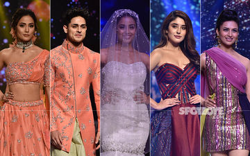 Hina Khan, Priyank Sharma, Srishty Rode, Kritika Kamra, Divyanka Tripathi Scorch The Ramp At Bombay Times Fashion Week 2019