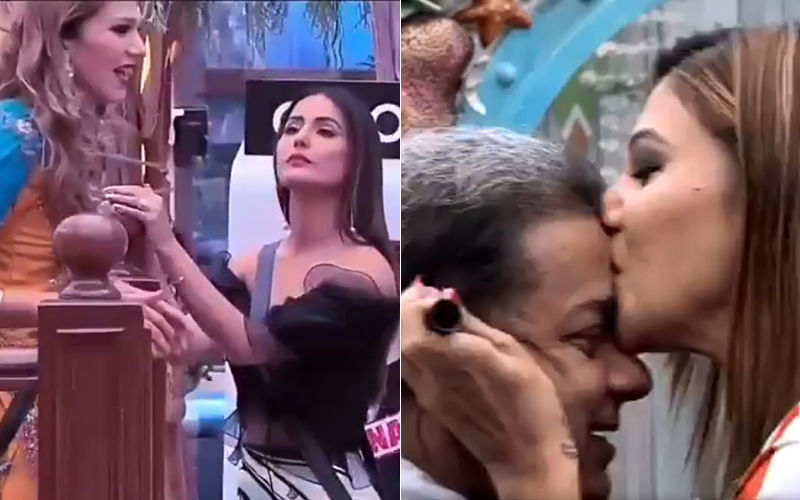 Hina Khan Questions Jasleen Matharu About Her 'Relationship' With Anup Jalota. Here's How She Reacts