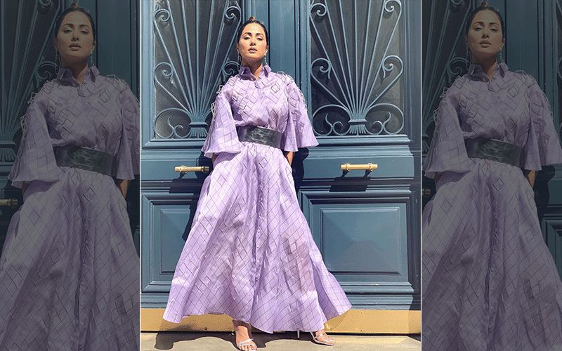 "Hina Khan's New Look From Cannes 2019: Actress Dons Lavender- The ""Colour Of Forgiveness"""