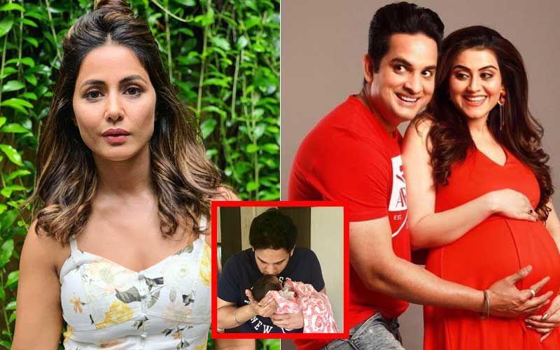 Hina Khan Is Full Of Love For Yeh Rishta Kya Kehlata Hai Co-Star Priyanka Kalantri's Baby Boy, Vihaan