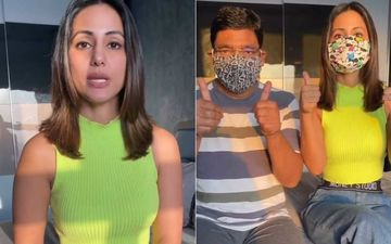 Coronavirus Lockdown: Hina Khan Teaches How To Make Reusable Masks At Home; Urges People To Make One For Themselves- VIDEO