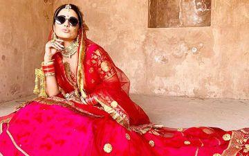Hina Khan's Bridal Pictures Scream 'Swag'; Shares Throwback Pics From Raanjhana Shoot With Priyank Sharma