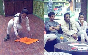 Bigg Boss 11, Day 2: Hina Khan Mops The Floor On Her Birthday; Vikas Gupta Loses His Temper