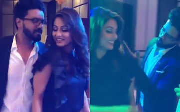 VIDEO: Hina Khan Dances To Aye Meri Zohra Jabeen With Boyfriend Rocky Jaiswal