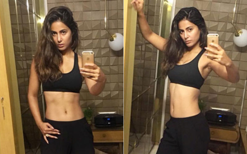 Hina Khan Hits The Gym With Vengeance After Binging On Biryani On Eid, Watch Video