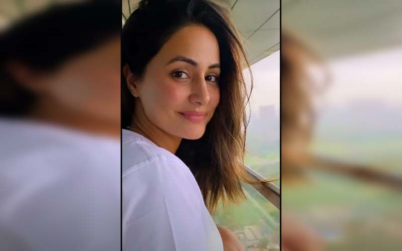 Hina Khan Reveals She Can See Her Late Father Everyday From Her House Balcony; Says 'This Is How He Chose To Be Close To Us'