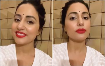 Naagin 5 Star Hina Khan Reveals Her Red Lip Colour Secret On Public Demand And It Is Hot AF