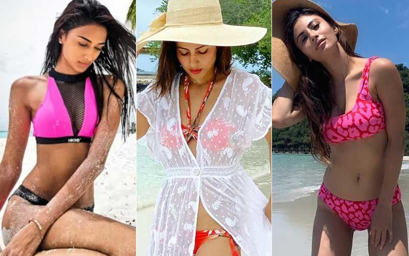 Erica Fernandes, Hina Khan, Mouni Roy- TV Actresses Who Ditched Their Bahu Avatar And Came Out As Sexy Bikini Babes