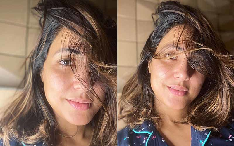 Hina Khan Goes Au Naturel As She Takes Some Midnight Selfies; Fans Call Her Flawless And A Natural Beauty - PICS