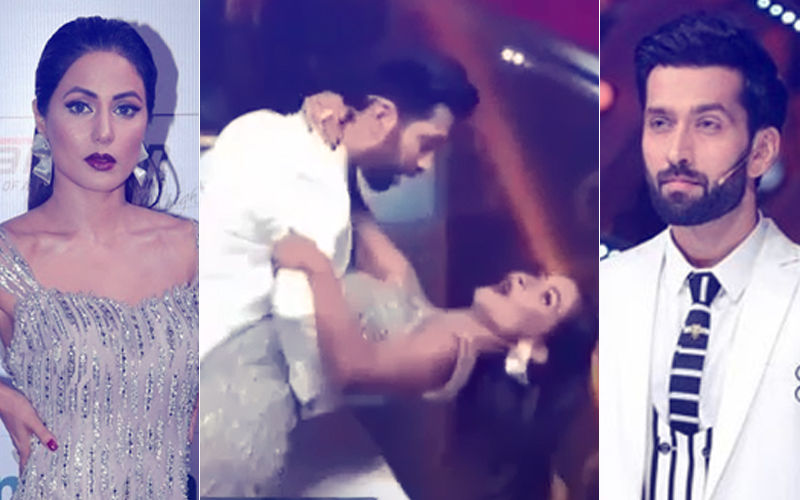 Hina Khan Seduces Nakuul Mehta Dancing To 'Aao Na, Gale Lagaa Lo Na'