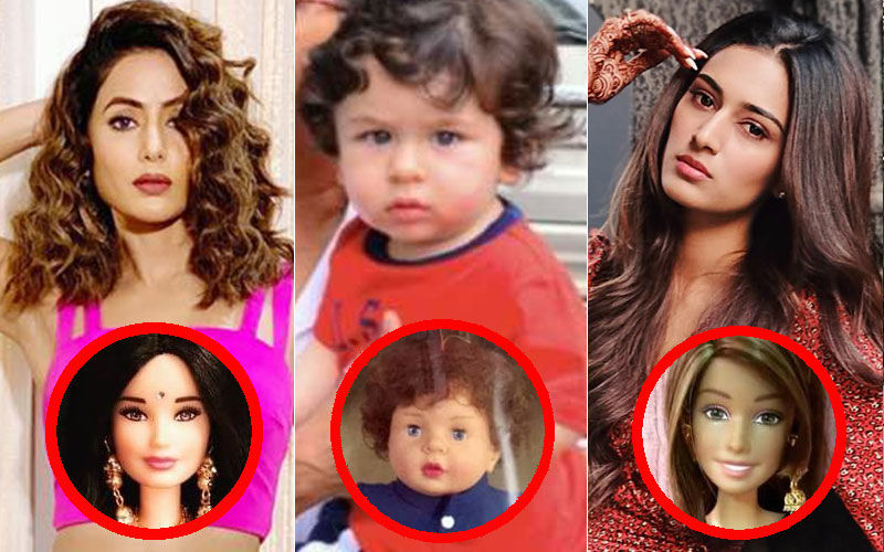 After Taimur, Hina Khan-Erica Fernandes Get Komolika And Prerna Look-alike Dolls